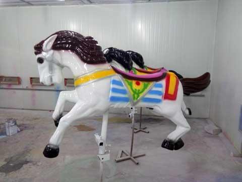 Medium Carousel Horse For Sale