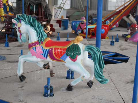 Small Vintage Carousel Horse