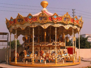 Carousel Equipment With Double Decker