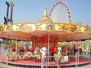 24 seat fairground carousel