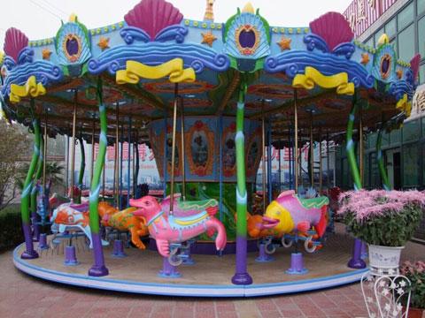 24 Seat Ocean Carousel