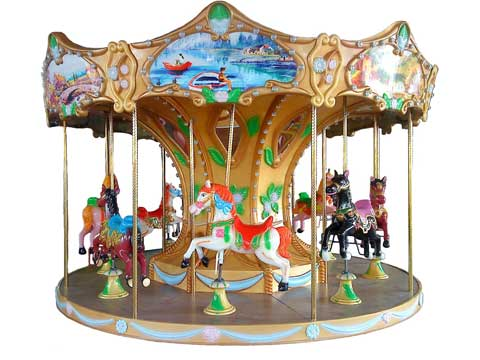 Kiddie Small Carousel