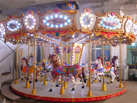 Beston Grand Carousel For Kids