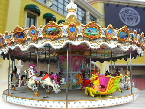 Antique Carousel Ride From Beston