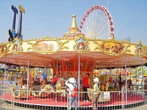 Beston carousel fairground ride