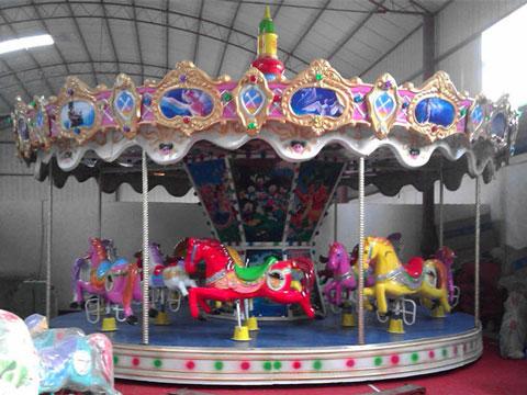 Vintage Carousel Fiberglass Ride