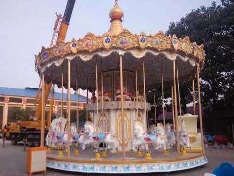 Double floor carousel equipment for sale