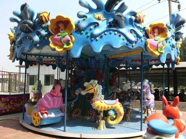 Beston carousel rides exported to Bangladesh
