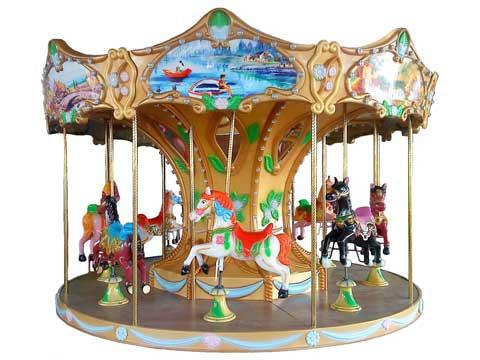 Kiddie carousel horse