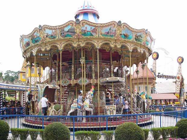 Double decker carousel sales