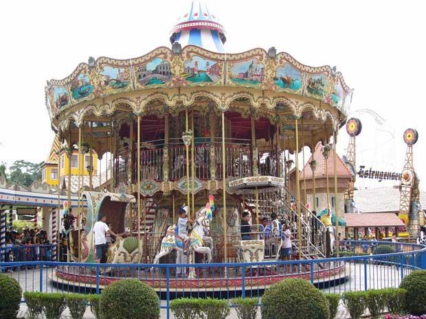 Double decker carousel sales
