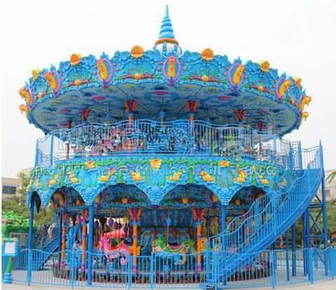 Ocean double decker carousel