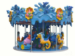 Grand ocean carousel for sale with high quality