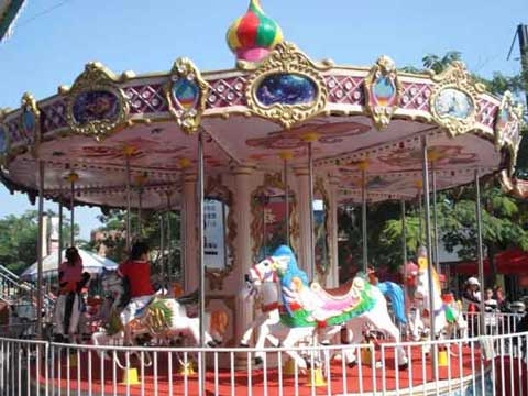 Beston fairground carousel ride quality