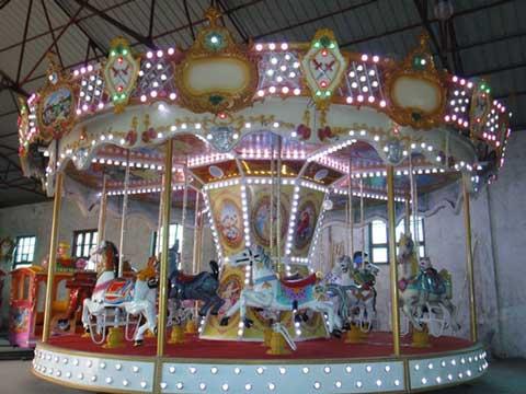 16 seat carousel fairground ride