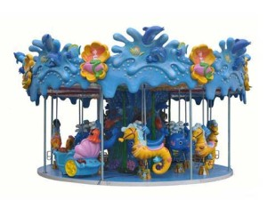Beston Indoor Carousels With Ocean Theme