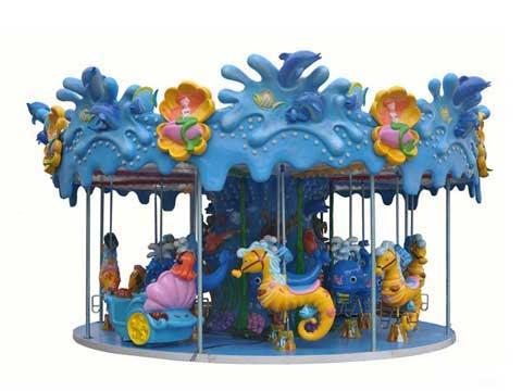 Beston Indoor Carousels With Ocean Theme