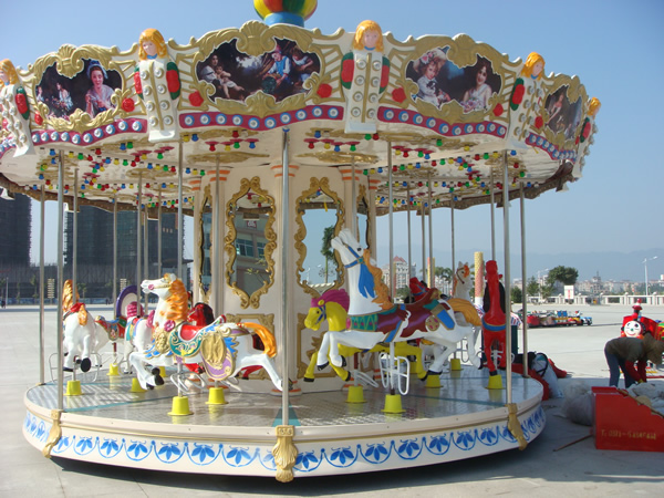 Small under-drive carousel for sale