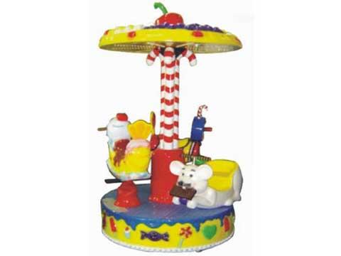 Kids mini carousel ride