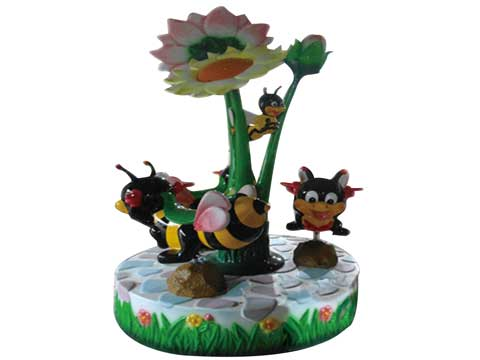 Kids Carousel With 3 Bees