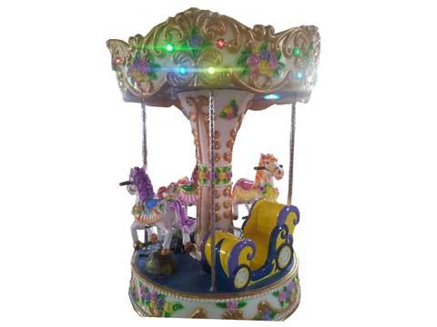 4 seat mini carousel