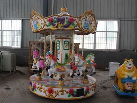 Mini carousel for sale