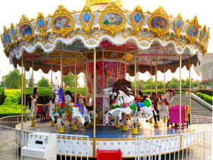 Top-drive carousel for sale from Beston