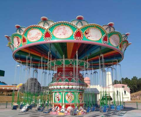 Grand Flying Swing Carousel For Sale From Beston