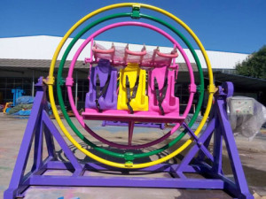 Amusement park human gyroscope ride for sale