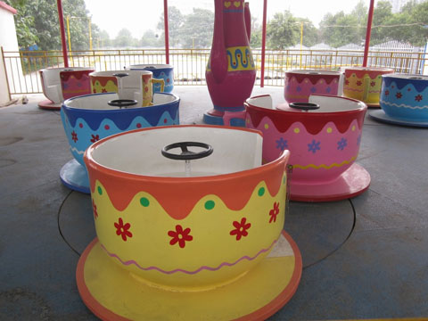 Amusement Teacups Ride For Sale