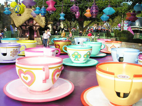 Teacups Ride For Family
