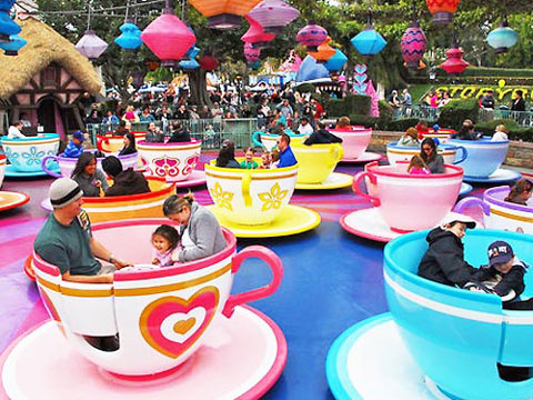 Lovely Coffee Cup Ride For Amusement