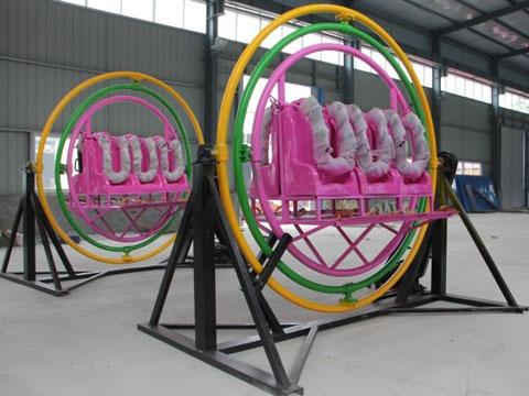 Beston Amusement Human Gyroscope Ride With 6 Seat