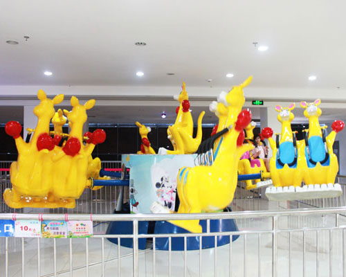 Spinning Amusement Kangaroo Jump Ride