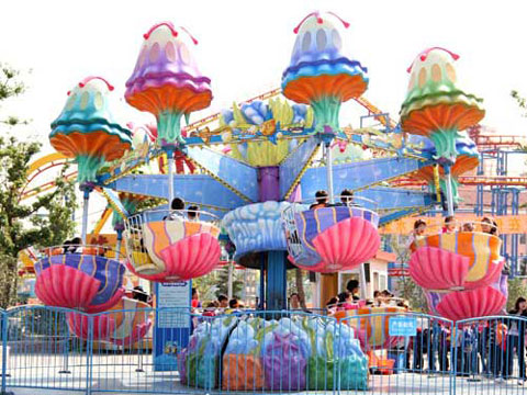 Funfair Jellyfish Ride For Amusement