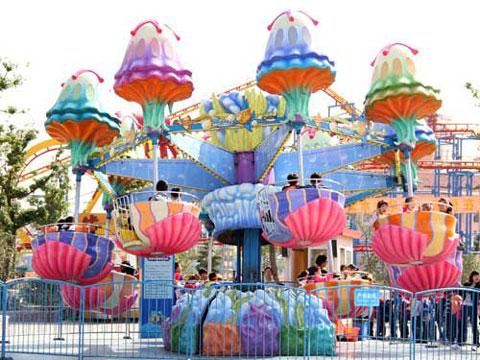 Funfair Jellyfish Ride For Amusement