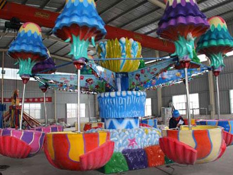 Spinning Jellyfish Amusement Ride