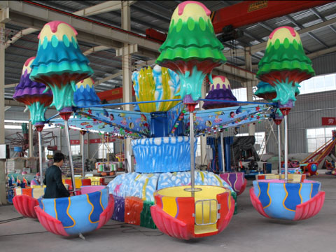 Quality Attractive Jellyfish Ride For Fairground