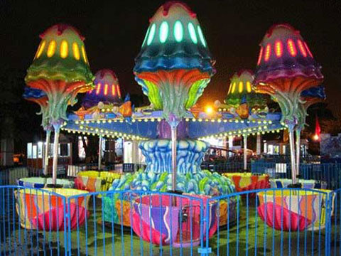 Beston Jellyfish Ride For Carnivals