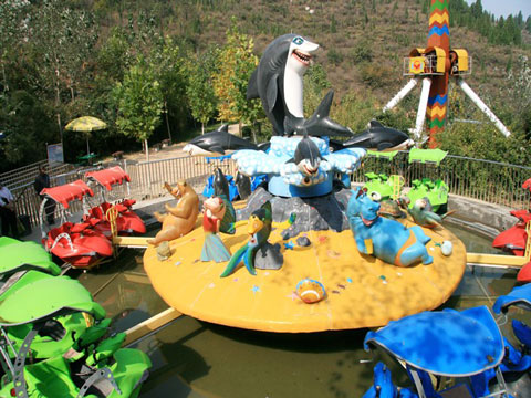 Amusement Shark Island For Sale