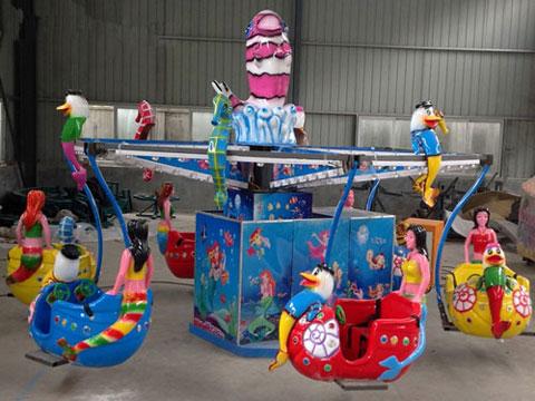 Ocean Walk Kiddie Size Ride For Amusement Park