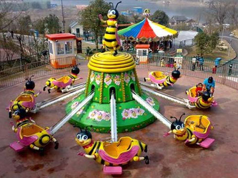 Quality Kiddie Rotary Bee Ride For Kids