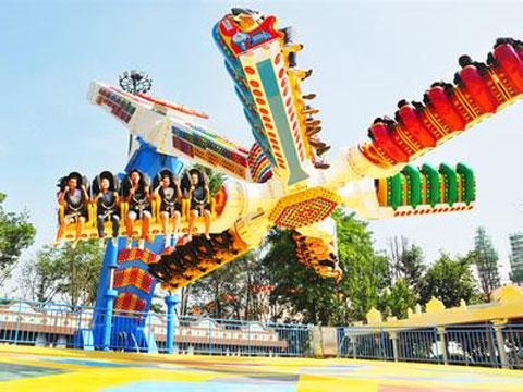 Rapid Windmill Ride For Amusement Park