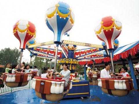 Family ride samba balloon for amusement park