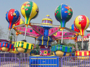 Amusement Park Samba Balloon Ride For Carnivals