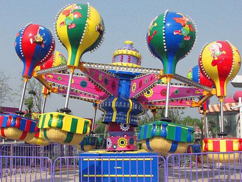 Amusement Park Samba Balloon Ride For Carnivals