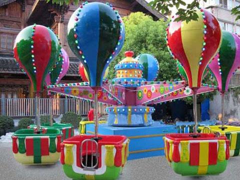 A new spinning samba balloon ride
