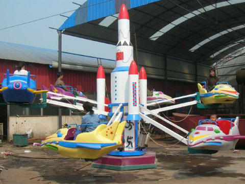 Spinning Rides Kiddie Self-control Plane