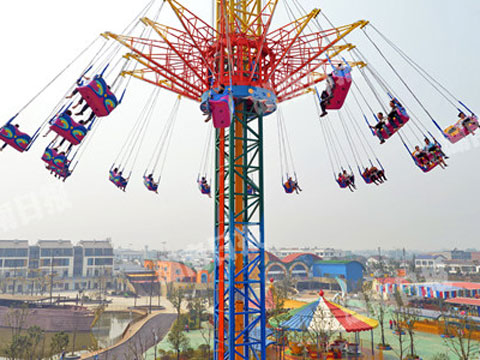 Thrill Amusement Sky Tower Ride For Sale
