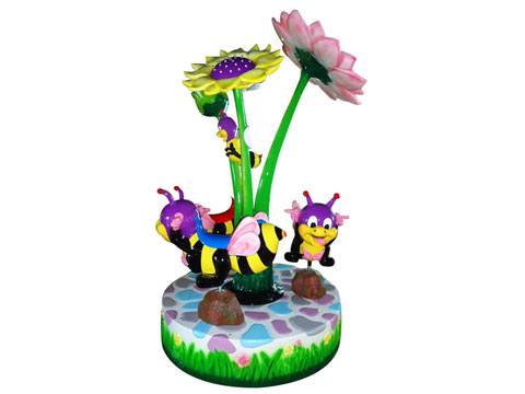 Bee Carousel Ride For Kids